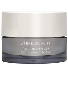 SHISEIDO MEN TOTAL REVITALIZER CREAM TONES & ENERGIZES TOTAL AGE-DEFENSE 50ML