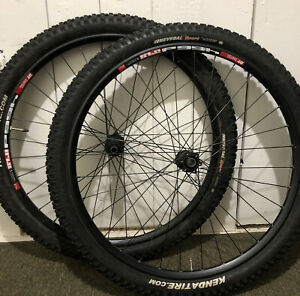 DT Swiss 466d MTB rims 27.5, with 2.35 tires Shimano Deore free hub wheelset