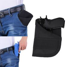 Tactical Pocket Pistol Holster EDC Concealed Carry Small Gun Bag Pouch Airsoft