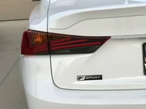 PreCut Smoke Tint Overlay for 17-19 IS 300 IS 350 Taillight Reverse lights