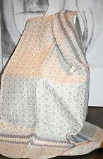 Clayre & Eef Quilt Decke Tagesdecke Patchwork Flower Grey Romantisch 260x180 Neu