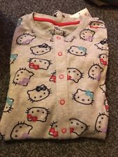 Marks And Spencer Girls Hello Kitty All In One 9-10 Years grey