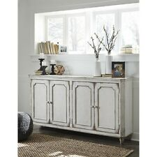 Signature Design by Ashley T505-560 Accent Cabinet - Antique White New