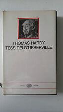 THOMAS HARDY TESS DEI D'UBERVILLE EINAUDI I MILLENNI 1970