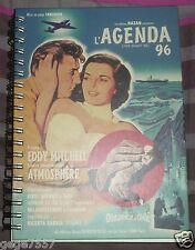 LIVRE L'AGENDA 96 avec photo film américain années 50/60, EDDY MITCHELL