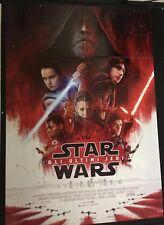 Star Wars Gli Ultimi Jedi Manifesto Affissione Originale ITA 100X140cm