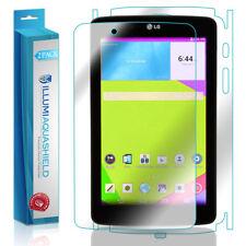 2x iLLumi AquaShield HD Front Screen + Back Protector Shield for LG G Pad 7.0