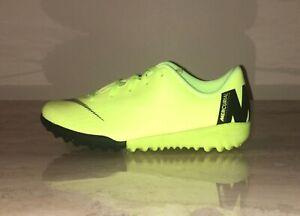 Nike JR Mercurial VaporX 12 Academy TF Turf Soccer Shoes AH7353-701
