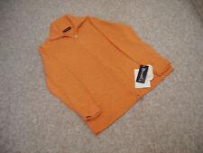 Denim & Co. Strickjacke orange Größe L Reißverschluss QVC NEU mit Etiketten