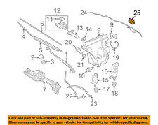 JAGUAR OEM 05-08 S-Type Wiper Washer-Windshield-Nozzle Spray Jet C2C7462