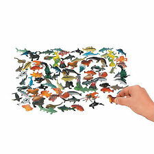 Discovery Kids Sea Creature 18 Piece Assortment Toys Plastic Set Shark Star Fish