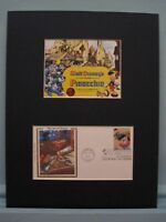 Disney's Pinocchio & First Day Cover of Stamp