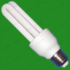 4 x 15W =75W Energiesparend Energieersparnis CFL Stableuchte Glühbirnen,ES,E27,
