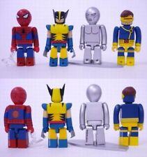 KUBRICK spiderman X-MEN marvel WOLVERINE storm surfer CYCLOPS 8 figures DOOM set