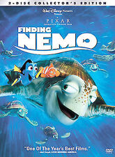 Finding Nemo (Two-Disc Collector's Edition), Good DVD, Joe Ranft, Vicki Lewis, S