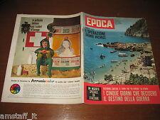 EPOCA 1962/622=DUELLO SPAZIALE=SHERRY FINKBINE=FOLCO QUILICI SAHARA=