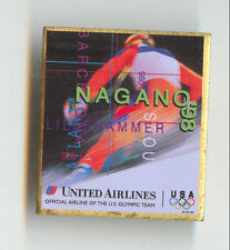 United Airlines Nagano'98 Olympic Badge