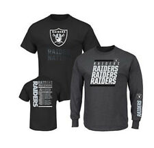 NFL 3-in-1 3 Looks in 1 Tee Shirt Combo Oakland RAIDERS ~XL