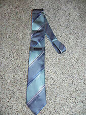 Vince Camuto tie Mens Polyester Silk Blend Gray Multi-Color NWT