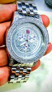 Joe Rodeo Diamond Watch (XLNC) 3.50 - 4.00 ct vs2 Diamonds!