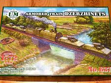 UM Technics 1:72 Dzerzhinets Armoured Train Model Kit