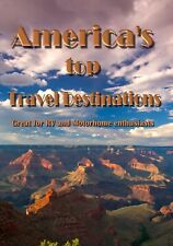 AMERICA'S TOP TRAVEL DESTINATIONS TRAVEL US AMERICAN vacation dvd blu-ray