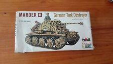 GERMAN TANK  DESTROYER MARDER III     1/72 SCALE ESCI