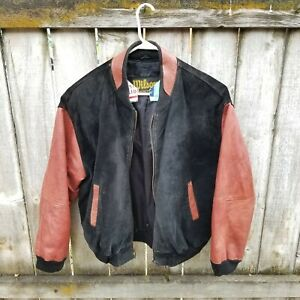 Wilson NFL Mens Leather Jacket Size XL Leather Commissioner Paul Tagliabue 1X