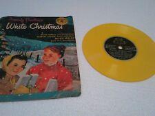 Little Golden Records 78Rpm Yellow Irving Berlin White Christmas 1957