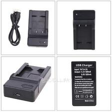 EN-EL19 USB Battery Charger For Nikon Coolpix S7000 S6500 S5200 S4100 Camera