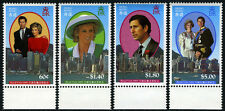 Hong Kong 556-559, MNH. Visit of the Princess Diana and Prince Charles, 1989