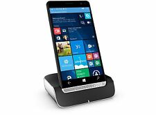 HP Elite x3 Smartphone Desk Dock Bundle - 64GB ‑ Unlocked GSM / Windows 10