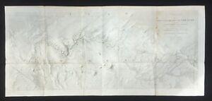"""Rio Colorado of the West"" 1858 Map No.2 by Lieut. Joseph C. Ives"