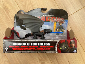How to Train Your Dragon - Hiccup and Toothless Action Figure Toy Set