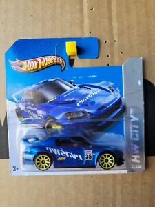 Hot Wheels 2013 - HONDA S2000 [BLUE] NEAR MINT VHTF SHORT CARD GOOD