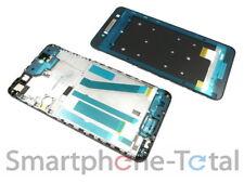 HTC Desire 728G Front Gehäuse Cover f. Display Kleber Rand, schwarz