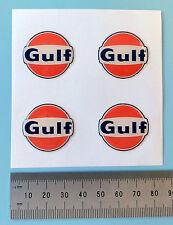 """Del Golfo con el logotipo Pegatinas 3D 25 Mm 1 """"de ancho Calcomanías-con licencia oficial del Golfo de mercancía"""