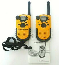 2x Mortorola Talkabout 200 Walkie Talkie 2-Way Radios 14 Channel 2 Mile - Tested