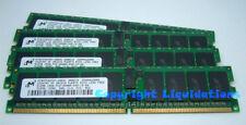 Micron 2GB (4x512MB) DDR2 400 PC2-3200R-333 CL3  ECC Reg Server Memory RAM