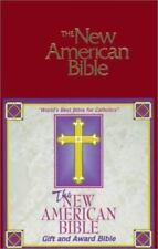 The New American Bible Gift and Award Bible Official Catholic Biblle Sealed NEW