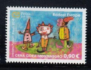 MONTENEGRO Joy of Europe 2010 MNH stamp