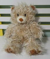 STUFFLER TEDDY BEAR BROWN FLUFFY 40CM
