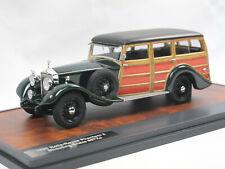 Matrix Scale Models 1930 Rolls Royce Phantom II Shooting Brake #67XJ green 1/43
