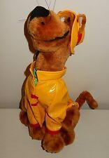 Peluche plush SCOOBY DOO vintage ciré jaune Hanna Barbera 2001