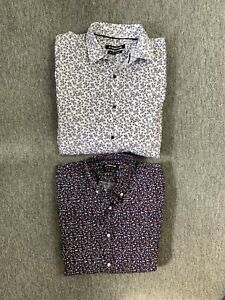 Connor Floral Shirts Size Medium