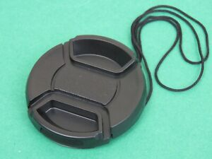 40.5mm Centre Pinch Front Lens Cap Universal Snap-on for Nikon Canon Sony Lenses