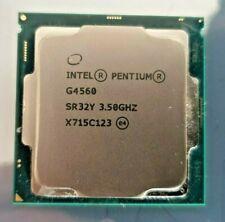 Pentium G4560 LGA1151 3.5Ghz CPU No Reserve