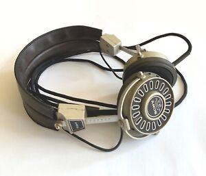 Rare Vintage Sony DR-15 Stereo Headphones.