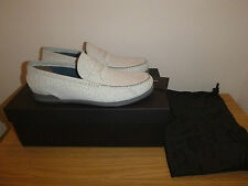 Brand New Dolce & Gabbana Leather Loafers Shoes Italian Made UK10 EU44 D&G