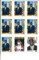 Lot of (44) Dikembe Mutombo Basketball Cards w/ Rookie RC Cards - NBA - Nuggets